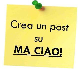 Crea un un post su Ma ciao!